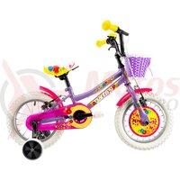 Bicicleta DHS 1404 violet 14