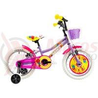 Bicicleta DHS 1604 16' violet 2019