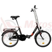 Bicicleta DHS 2092 Pliabila negru 2019