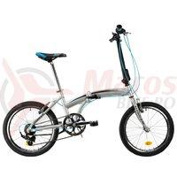 Bicicleta DHS 2095 Pliabila gri 2019
