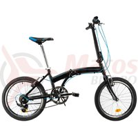 Bicicleta DHS 2095 Pliabila negru 2019