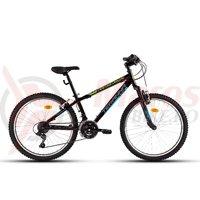 Bicicleta DHS 2423 neagra 2018