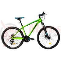 Bicicleta DHS 2625 verde 2018