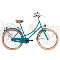 Bicicleta DHS 2632 Citadinne verde deschis 2019
