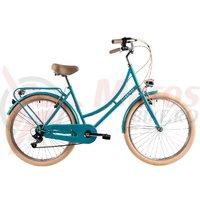 Bicicleta DHS 2634 Citadinne verde light 2019
