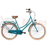 Bicicleta DHS 2636 Citadinne verde deschis 2019