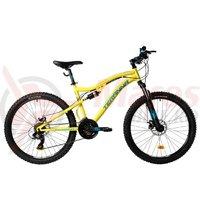 Bicicleta DHS 2645 galbena 2018