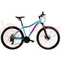 Bicicleta DHS 2724 albastru deschis 2019
