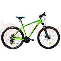 Bicicleta DHS 2725 verde 2018