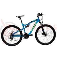 Bicicleta DHS 2745 albastra 2018