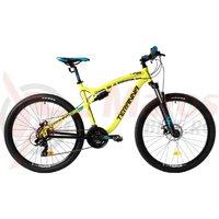 Bicicleta DHS 2745 galbena 2018