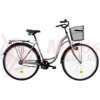 Bicicleta DHS 2830 Citadinne gri 2019