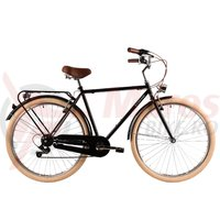 Bicicleta DHS 2833 Citadinne neagra 2019