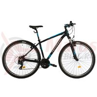 Bicicleta DHS 2923 neagra 2019