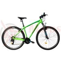 Bicicleta DHS 2923 verde 2019