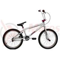 Bicicleta DHS BMX Jumper 2005 gri deschis 2018