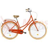 Bicicleta DHS Citadine 2832 portocalie 2018