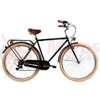 Bicicleta DHS Citadine 2833 neagra 2018