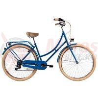 Bicicleta DHS Citadine 2834 albastra 2018