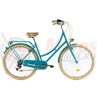 Bicicleta DHS Citadine 2834 verde light 2018