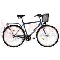 Bicicleta DHS Citadinne 2831 albastra 2017