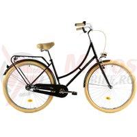 Bicicleta DHS Citadinne 2832 negru 2019