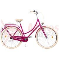 Bicicleta DHS Citadinne 2832 roz 2019