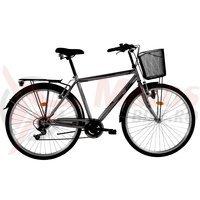 Bicicleta DHS Citadinne 2833 gri 2016