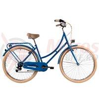 Bicicleta DHS Citadinne 2834 albastra 2019