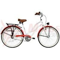 Bicicleta DHS Cruiser 2696 1v alba 2017