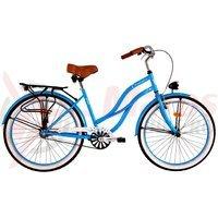 Bicicleta DHS Cruiser 2696 1v albastra 2017