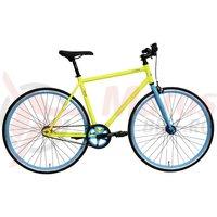 Bicicleta DHS Fixie 2896 verde 2017