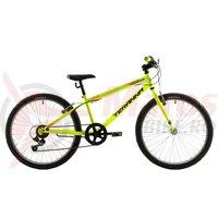 Bicicleta DHS Junior 2421 verde 2018
