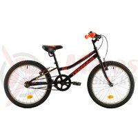 Bicicleta DHS Junior Terrana 2003 neagra 20 inch 2018