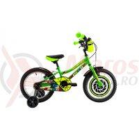 Bicicleta DHS Kids 1603 16' verde 2019