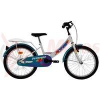 Bicicleta DHS Princess 2002 alba 2016
