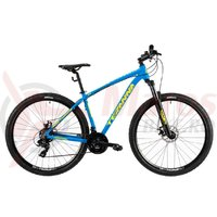 Bicicleta DHS Terana 2925 albastra 2019