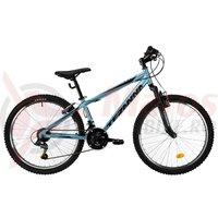 Bicicleta DHS Teranna 2423 albastra 2019