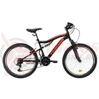 Bicicleta DHS Teranna 2445 negru 2019