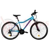 Bicicleta DHS Teranna 2622 albastru 2019