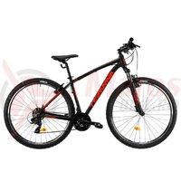 Bicicleta DHS Teranna 2923 neagra 2019