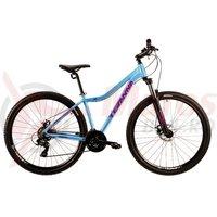 Bicicleta DHS Teranna 2924 albastra 2019
