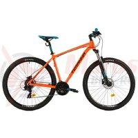 Bicicleta DHS Teranna 2927 portocalie 2018