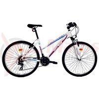 Bicicleta DHS Terrana 2622 alb/roz 2017