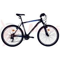 Bicicleta DHS Terrana 2623 negru/albastru 2017