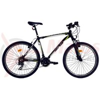 Bicicleta DHS Terrana 2623 negru/verde 2017