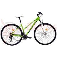 Bicicleta DHS Terrana 2922 verde/turcoaz 2017