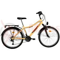 Bicicleta DHS Travel 2431 crem 2016