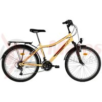 Bicicleta DHS Travel 2431 crem 2017