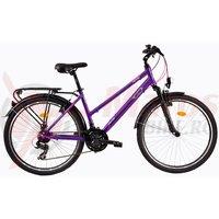 Bicicleta DHS Travel 2656 violet 2017